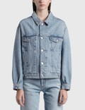 AGOLDE Charli Oversized Denim Jacket Picutre