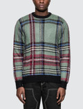 Stussy Plaid Mohair Sweatshirt Picture