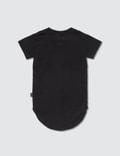 NUNUNU Rounded S/S T-Shirt Black Kids