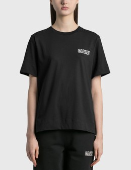 Ganni Thin Software Jersey T-Shirt