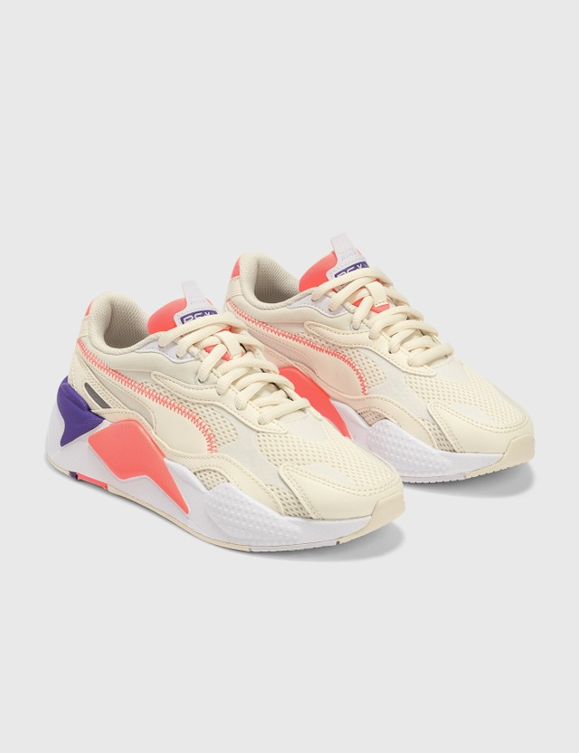 Puma RS-X³ 밀레니엄 Whisper White-puma White-nrgy Peach Women