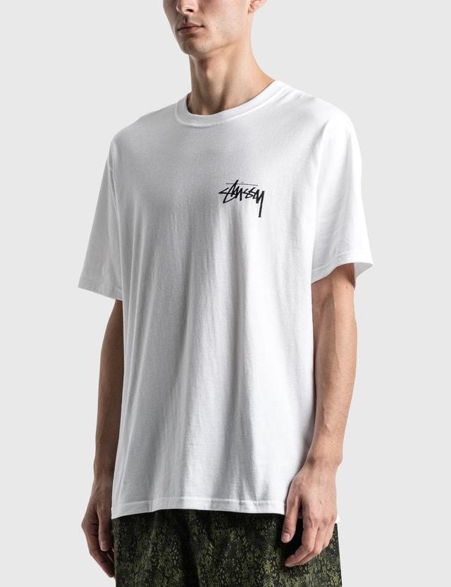 Stussy Pair Of Dice T-Shirt White Men