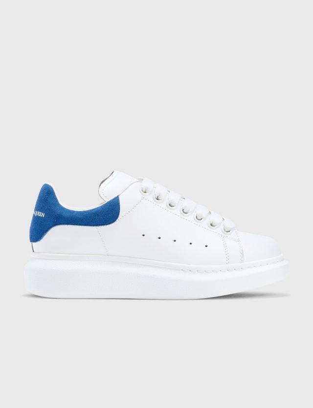Alexander McQueen Oversized Sneaker White/blue Women