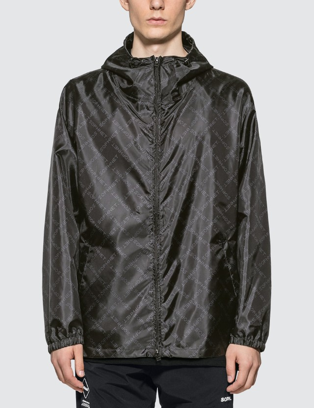 SOPHNET. Monogram Windbreaker