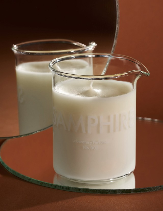 Laboratory Perfumes Samphire Scented Candle White Unisex