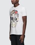 Alexander McQueen S/S T-Shirt with Big Skull Print