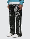 Off-White Futura Alien Carpenter Pants