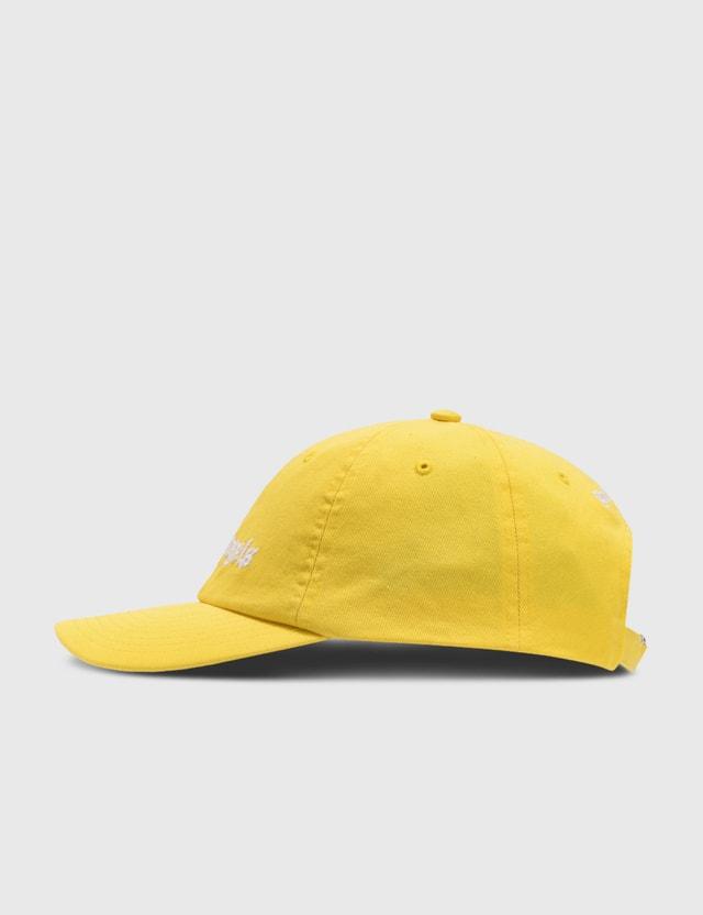 Palm Angels Classic Logo Cap Yellow Men