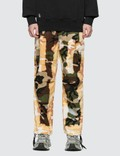 Liam Hodges Acid Burn Camo Trousers Picture
