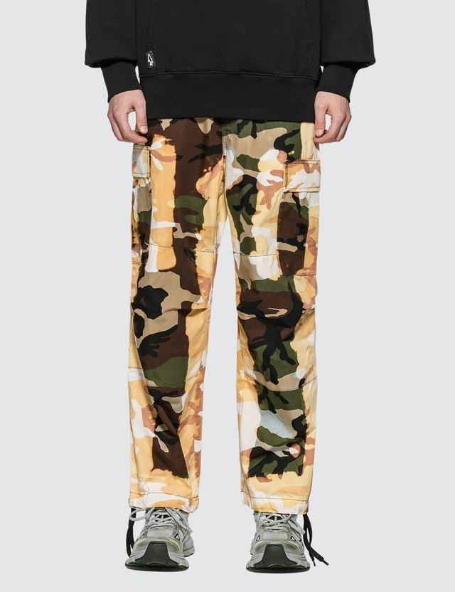 Liam Hodges Acid Burn Camo Trousers