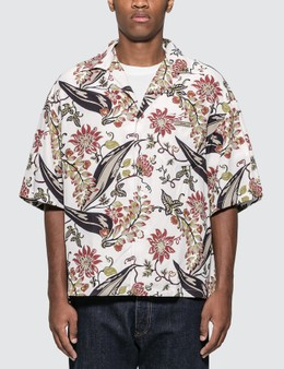 Prada Vintage Floral Bowling Shirt
