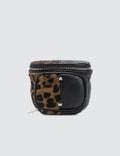 Alexander Wang Pouch Key Fob Leopard Picutre