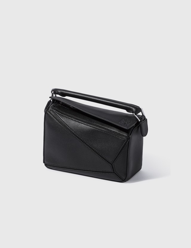 Loewe Mini Puzzle Bag Black Women