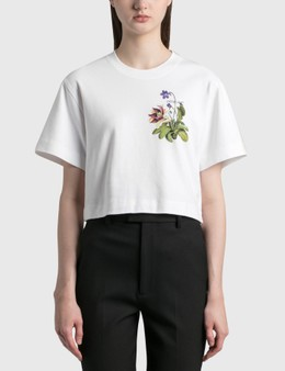 Off-White Botanical Arrows Crop T-Shirt