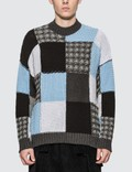 JW Anderson Cotton Patchwork Jumper Picture