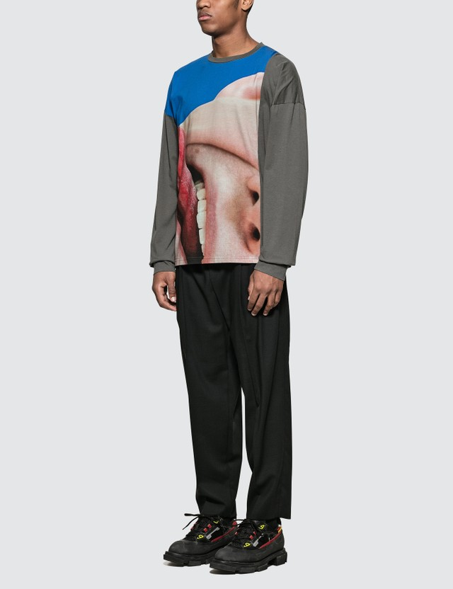 Marni Tongue Print L/S T-Shirt