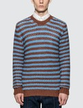 Prada Alpaca Striped Sweater