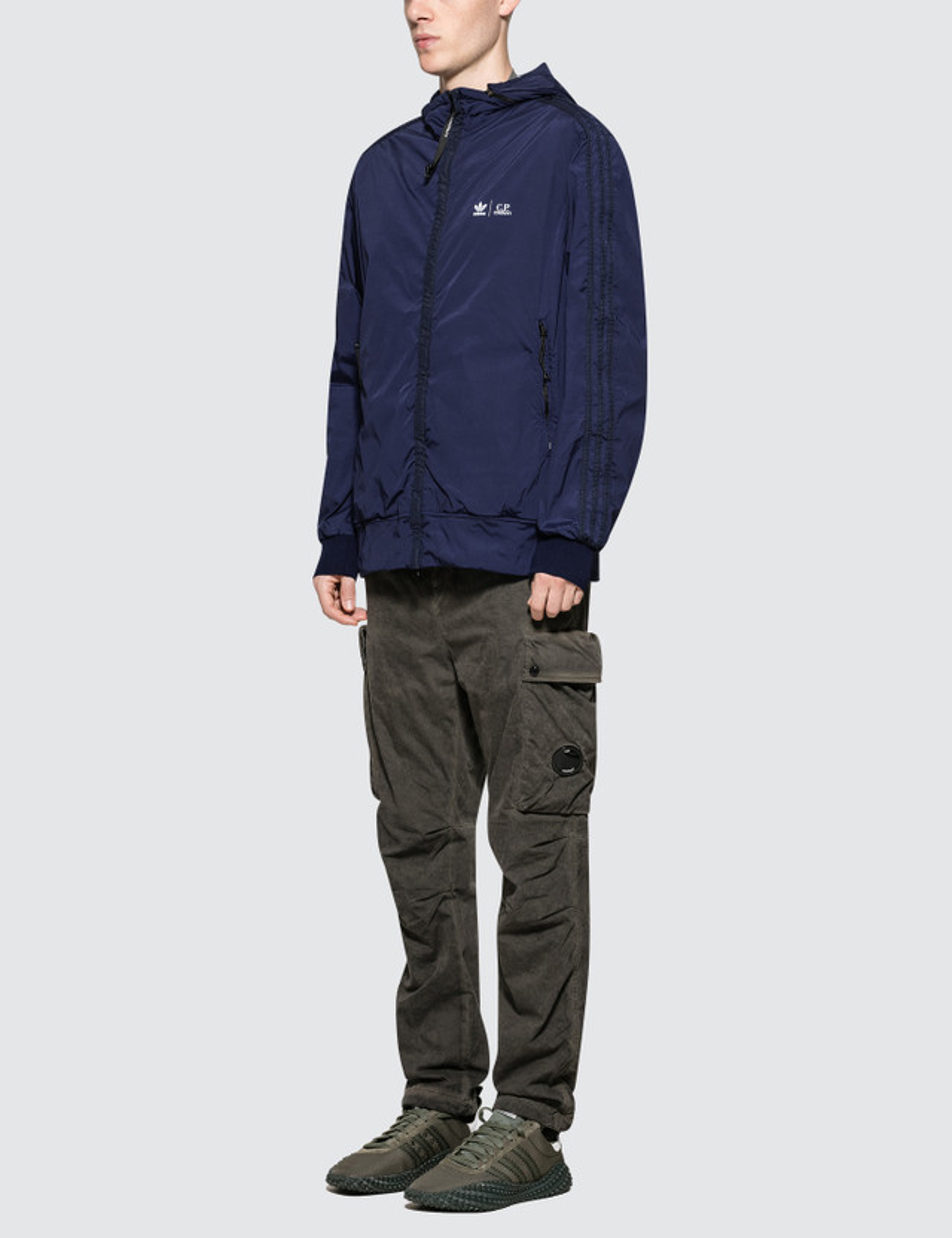 Adidas Originals Cp Company X Adidas Track Top Hbx