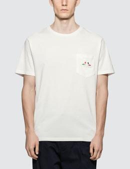 Maison Kitsune Resting Fox Patch S/S T-Shirt