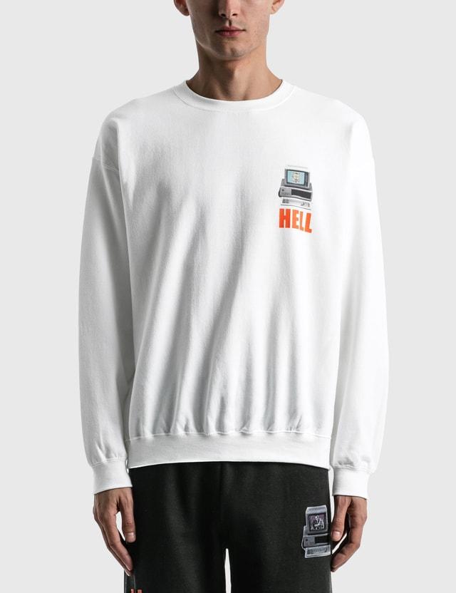 Hypebeast Cali Thornhill Dewitt x Hypebeast Sweatshirt White  Unisex