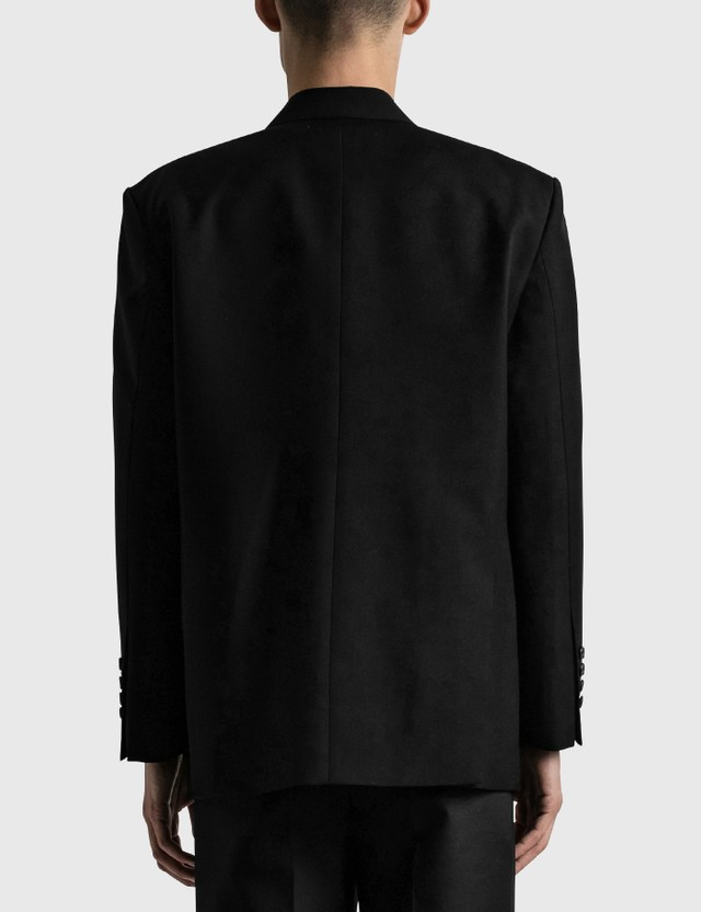 We11done Oversized Suit Logo Blazer