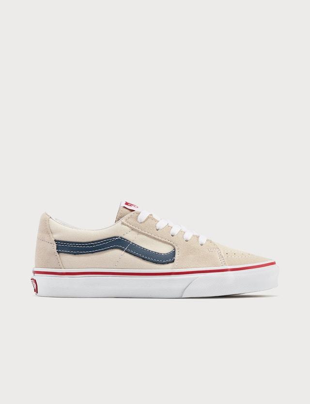 Vans SK8-Low Classic White/navy Women