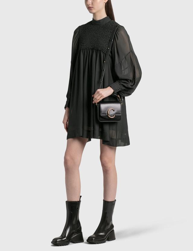 Chloé Mini Chloé C Bag Black Women