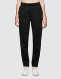 Alexander Wang.T Sleek French Terry Pull-On Track Pant with Logo Tape Picutre