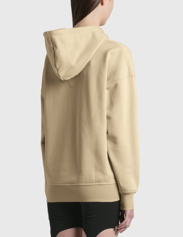 Dion Lee Crystal Escape Hoodie Sand Women