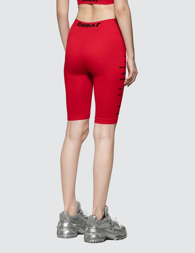 Unravel Project Tech Seamless Cycling Legging Red No Col Red Women