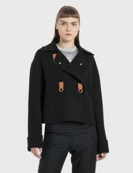 Loewe Cropped Double-breasted Jacket