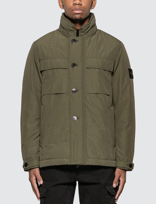 Stone Island Micro Reps Hooded Jacket