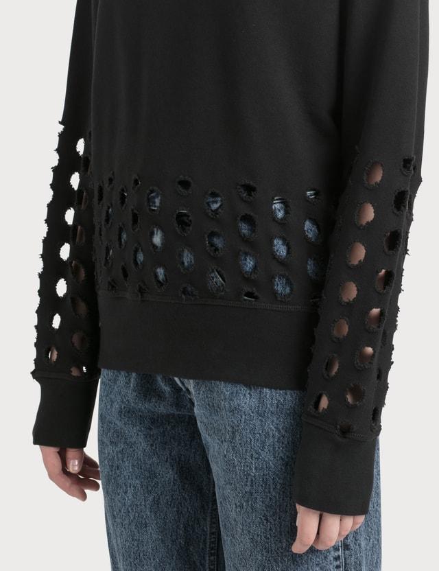 Maison Margiela Cut Out Sweatshirt