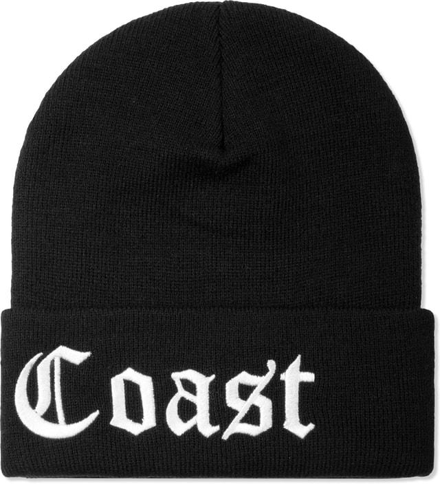 Stampd Black Big East Coast Beanie