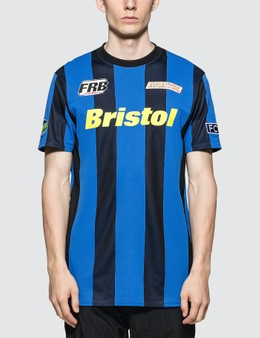 F.C. Real Bristol Stripe S/S Training T-shirt