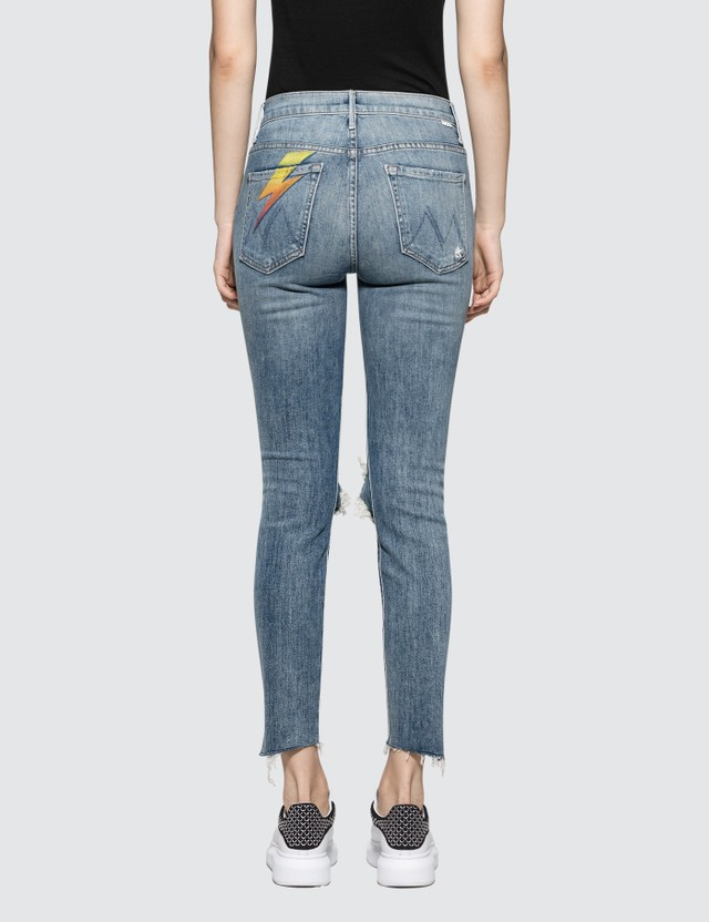 Mother The Stunner Ankle Step Fray Jeans