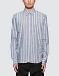 Maison Kitsune Stripes Classic Shirt Picture