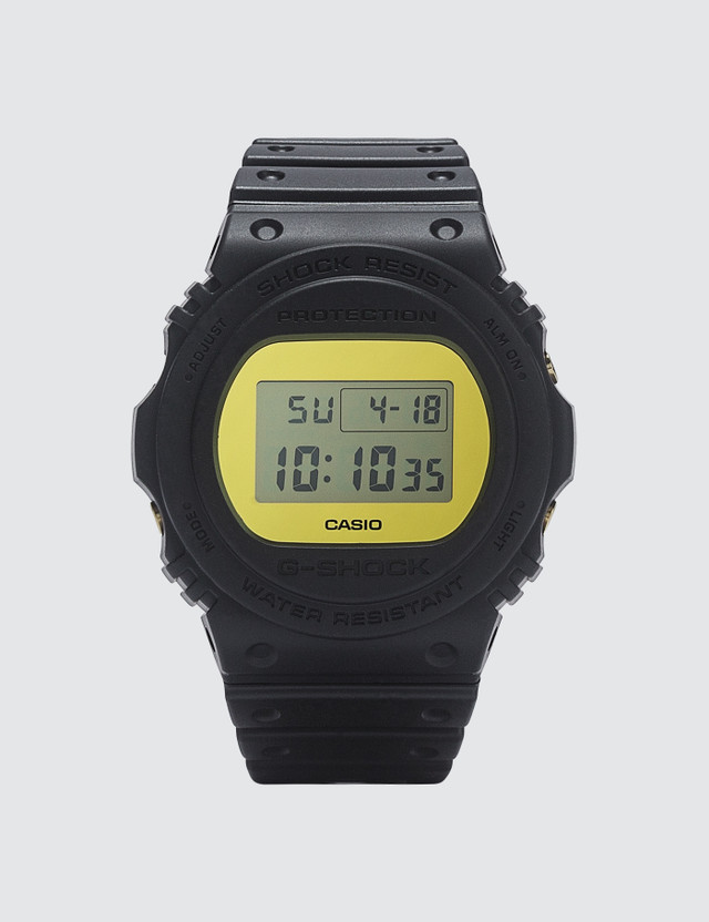 "G-Shock DW5700 ""Metallic Mirror Face"" Black Men"