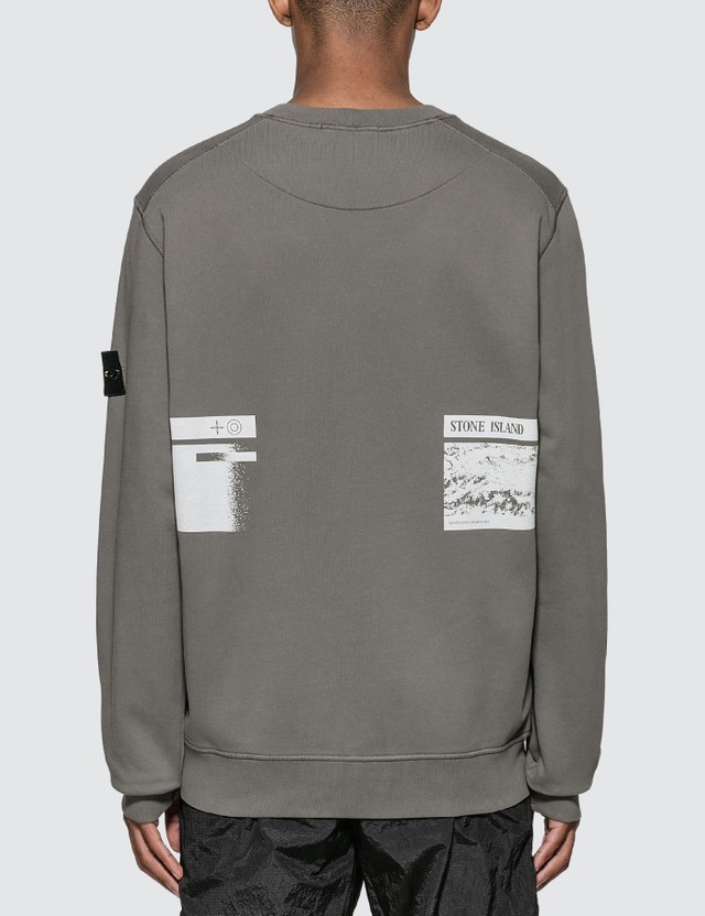 Stone Island 드론 쓰리 포켓 스웨트셔츠