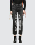 Alexander Wang Cult Jeans with Logo Embroidery Picture
