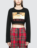 Fiorucci Renaissance Angels Cropped Sweatshirt Picture