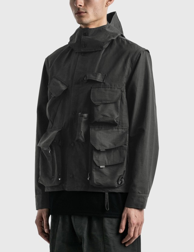 South2 West8 Tenkara Parka Charcoal Men