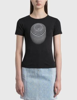 Marine Serre Optic Moon Mini Fit T-shirt
