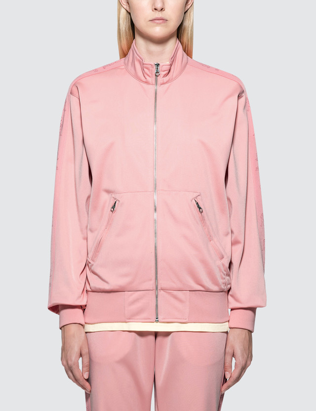 RIPNDIP Kamasutra Satin Track Jacket Pink