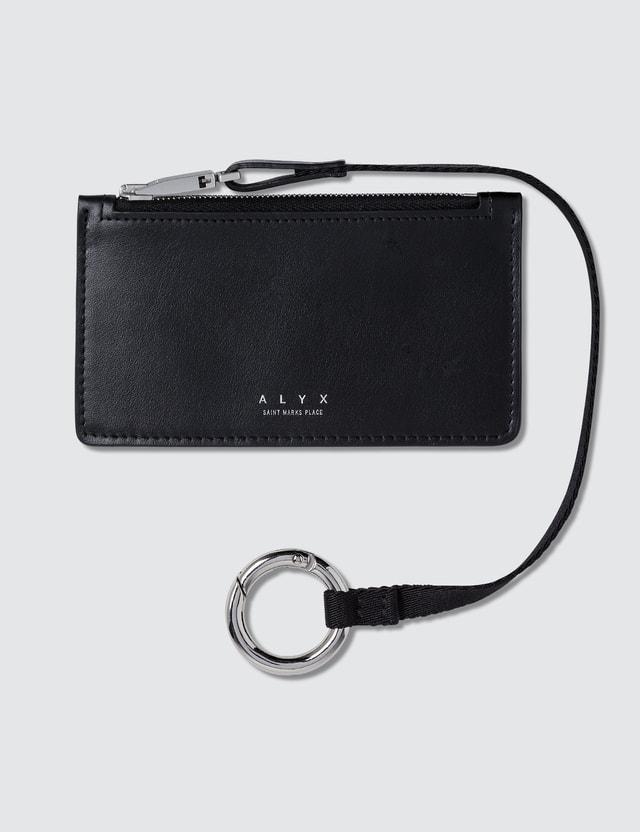 1017 ALYX 9SM Dani Zip Wallet W Lanyard