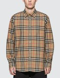 Burberry Check Cotton Poplin Shirt Picture