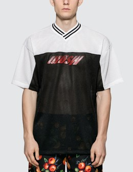 MSGM Inverted Logo Football S/S T-shirts