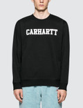 Carhartt Work In Progress Faculty Sweatshirt Picture