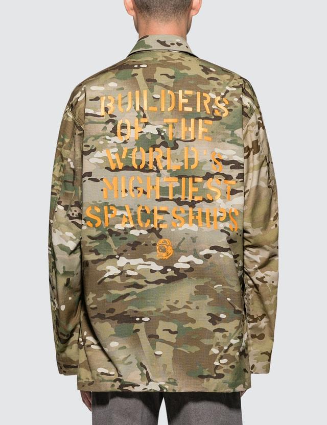 Billionaire Boys Club Crye X Billionaire Boys Club Patchwork Field Shirt