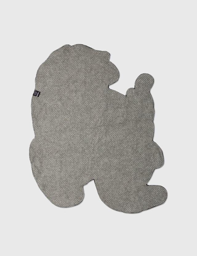RAW EMOTIONS Medium Mascot Kirin Rug Grey Life